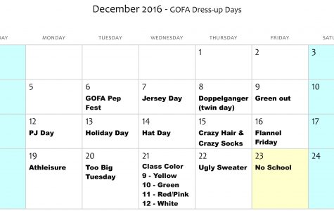 'Tis the Season of Dress Up Days