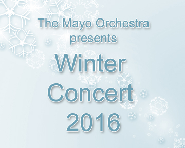 Mayo's Orchestra kicks off the holiday season with their Winter Concert