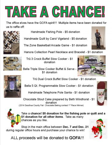 GOFA Raffle Boasts Great Prizes