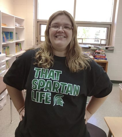 Mrs. Sportsman inspires Spartans