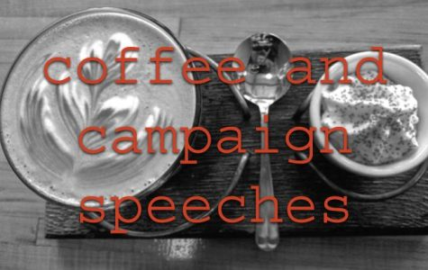 Coffee and campaign speeches