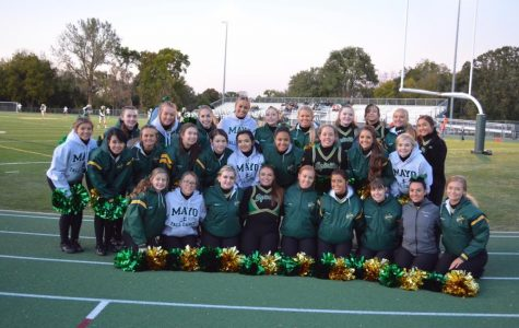 Mayo Fall Dance Team will perform on Monday, October 15th