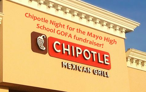 Chipotle Night: a highlight of Mayo High School's GOFA fundraiser