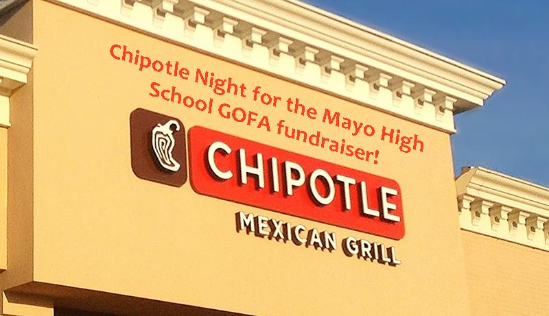Chipotle Night: a highlight of Mayo High School's GOFA fundraiser