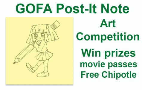 Got Art? Post-It for GOFA
