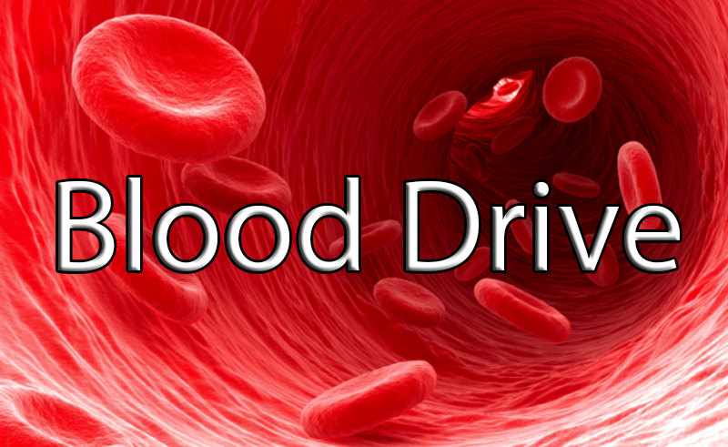 Second blood drive – Wednesday, Feb. 20 and Thursday, Feb. 21
