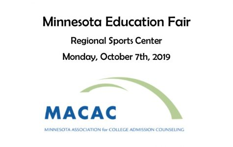 Minnesota Education Fair to be held on Monday, October 7th