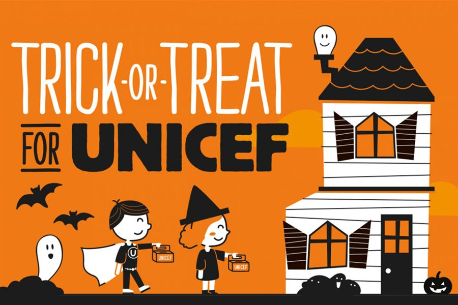 Trick or treating for a cause