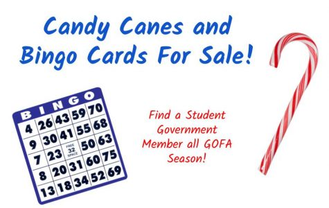 Candy canes and BINGO