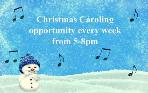 Caroling in the cold