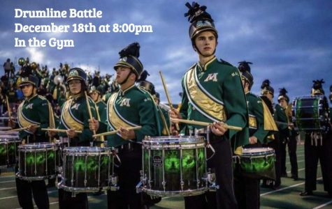 Have drum, will battle for GOFA