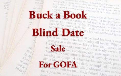 Buck A Book Blind Date sale for GOFA