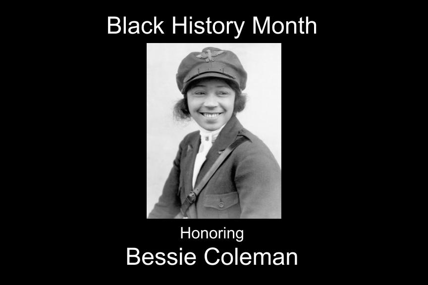 Bessie Coleman blazes a trail for Red Tails