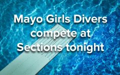 Mayo Girls Divers compete at Sections tonight