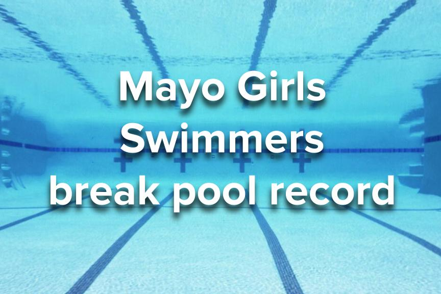 Girls grab new pool record and hope to make a splash at sections