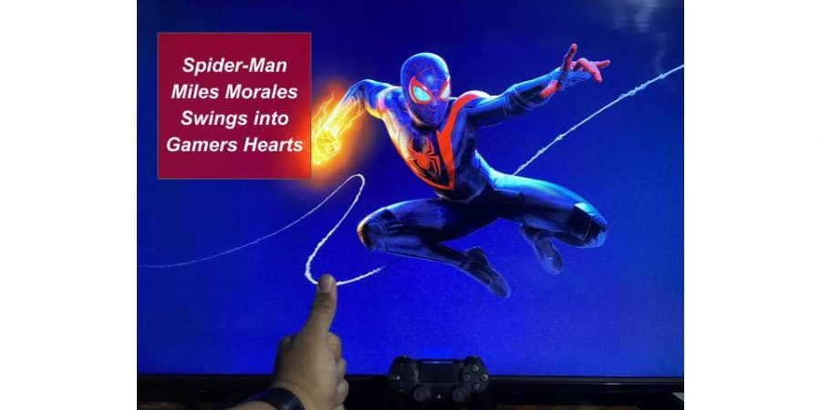 Spider-Man Miles Morales swings into gamers' hearts