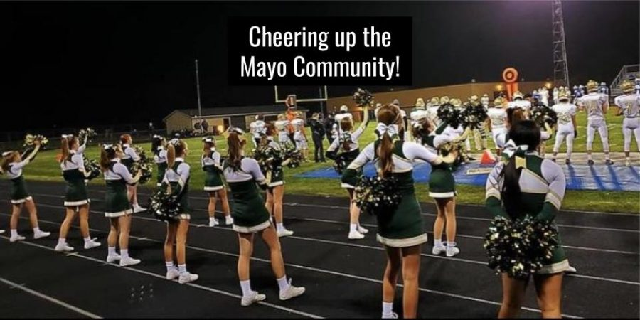 Cheering up the Mayo Community!