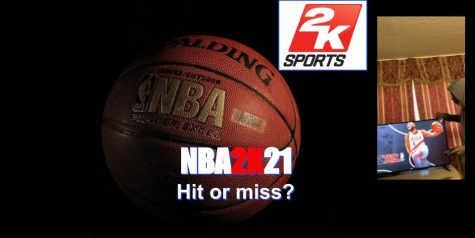 NBA2K21 misses shot on ps4 but a slam dunk on ps5