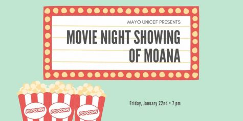Mayo High School UNICEF hosting movie night Friday, January 22nd