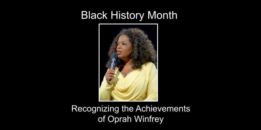 Recognizing the Achievements of Oprah Winfrey