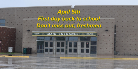 April 5th - First day back to school - Don